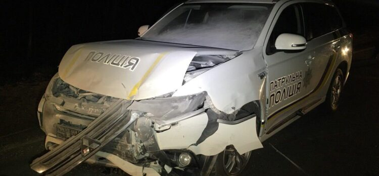 Нічна погоня поблизу Рівного: поліцейські затримали нетверезого водія