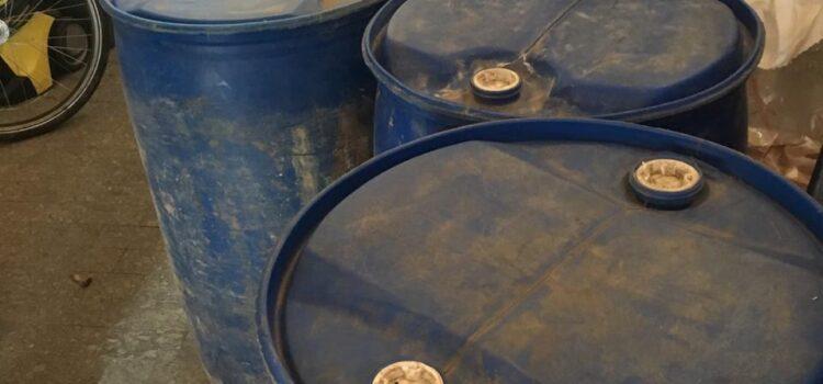 На Рівненщині ліквідовано підпільний цех з виготовлення фальсифікованого алкоголю