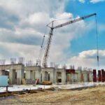 Масштабне будівництво спорткомплексу на Макарова триває безупинно