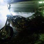 У Рівному горів мотоцикл