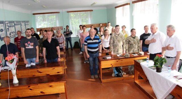 В Рівному стартував курс перепідготовки колишніх та діючих військовослужбовців ЗСУ
