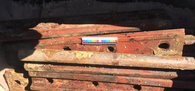 На Сарненщині поліцейські викрили зловмисника на крадіжці елементів залізничної колії