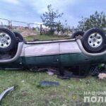 На Рівненщині водій та пасажир позашляховика травмувалися у ДТП