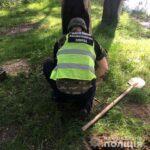 На березі річки чоловік знайшов бойовий гранатометний ВОГ (ВІДЕО)
