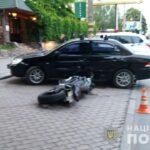 У Рівному в ДТП постраждав мотоцикліст
