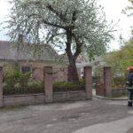 У Рівному вогнеборці врятували від знищення житловий будинок