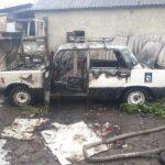 В Рівненському районі вогнеборці ліквідували пожежу у легковому автомобілі