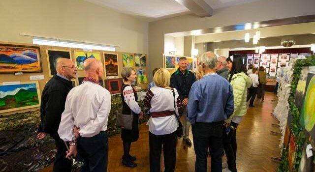 У Великобританії відкрилася виставка картин, що були створені у Клеванському госпіталі ветеранів війни