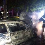 У Рівному на вулиці Гайдамацька згорів автомобіль