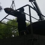 На Сарненщині сапери ДСНС знищили 250-ти кілограмову бомбу (ВІДЕО)
