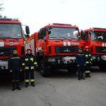 Ключі від 4-х новеньких МАЗів отримали підрозділи ДСНС в Рівненській області