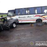 У поліції повідомили про обставини смертельної ДТП за участі легковика та маршрутки