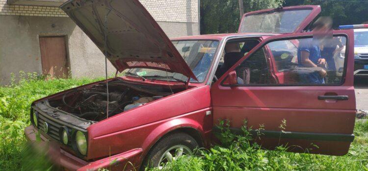 Поліцейські викрили хмельниччанина, який «навідувався» до Рівного по автомобілі