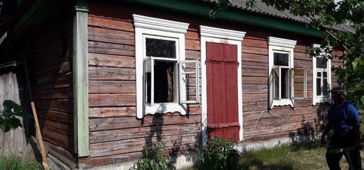 На Рівненщині у пожежі загинув 90-річний чоловік