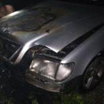 На Рівненщині рятувальники ліквідували загоряння легкового автомобіля