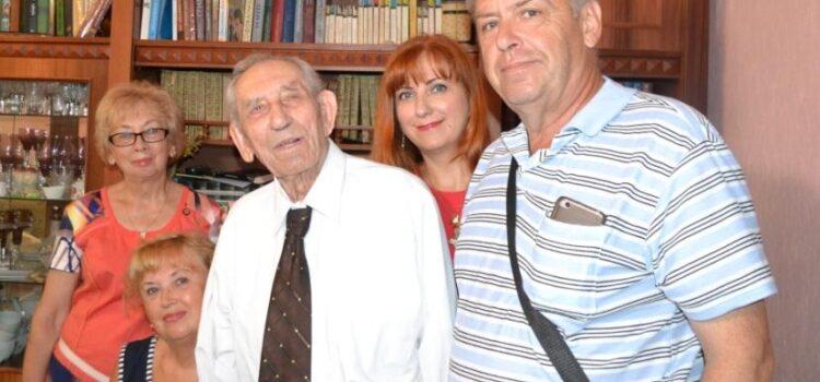 Рівненському ветерану органів внутрішніх справ сьогодні виповнилось 105 років