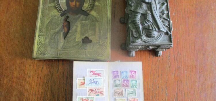 Рівненські митники виявили у громадянина РФ предмети старовини
