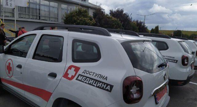 34 нових службових автомобілі передали амбулаторіям Рівненщини