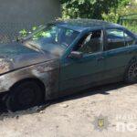 На Рівненщині поліцейські встановлюють обставини займання автомобіля