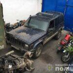 На Рокитнівщині поліцейські вилучили мотопомпу та позашляховик