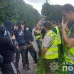 У Рівному поліцейські встановлюють обставини конфлікту за участю мітингувальників