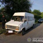 На Рівненщині поліцейські затримали молодика за угон фургона