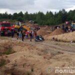 Зсув піску на Сарненщині: одна дитина в лікарні, інша – загинула