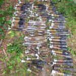 У жителя Костопільщини виявили 150 елементів від протитанкових гранат, серед яких шість – вибухонебезпечні