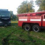 Автівку столичної телерадіокомпанії буксирували рівненські рятувальники