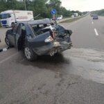 На Гощанщині зіткнулись автомобіль та маршрутка