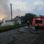 На Костопільщині згорів гараж та автівка