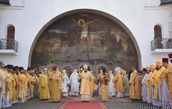 Митрополит Епіфаній очолив Божественну літургію на Козацьких могилах