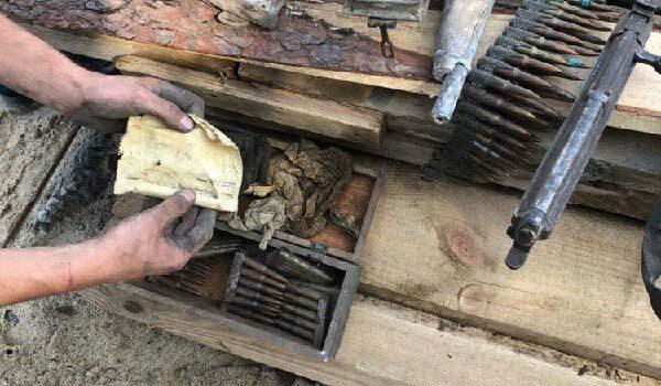 Майже триста одиниць вибухонебезпечних предметів виявили в Острозі під час будівництва