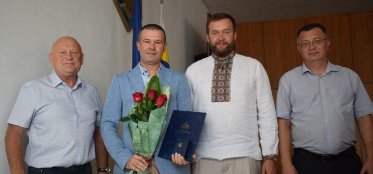 Грамоти Верховної Ради України вручили сільському голові та двом лікарям