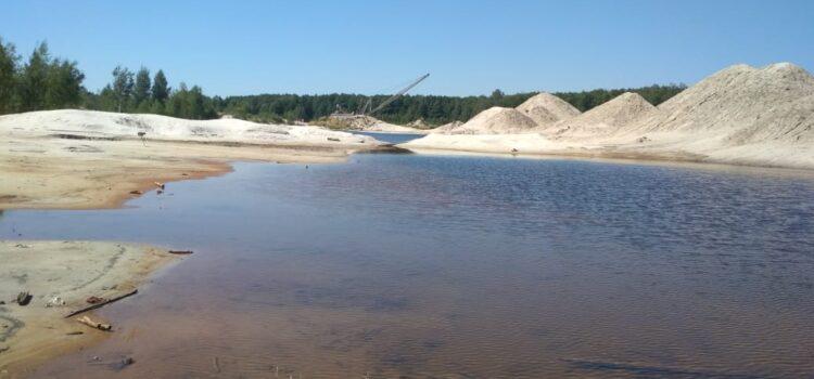 На Рівненщині понад 5800 гектарів землі постраждало від незаконного видобутку бурштину