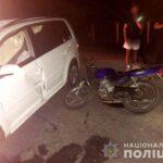 У ДТП на Рівненщині постраждали двоє мотоциклістів і пішохід