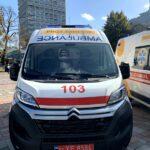 З ініціативи Президента медзакладам Рівненщини передано чотири автомобілі швидкої допомоги