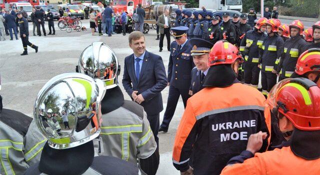 У Рівному привітали рятувальників із професійним святом