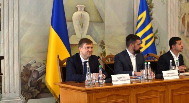 Президент України представив нового голову Рівненської ОДА Віталія Коваля