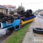 ДТП на Рівненщині: винуватець напідпитку втік з місця події
