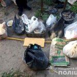 На Рівненщині поліцейські вилучили майже 40 кілограмів бурштину-сирцю