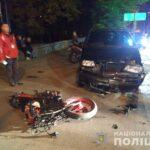 У Рівному до лікарні потрапили кермувальник мотоцикла та його пасажир