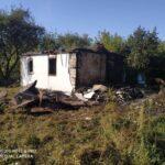 На Рівненщині під час пожежі чоловік отримав опіки
