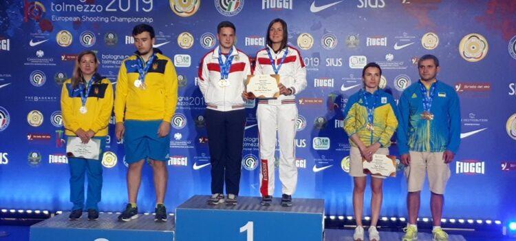 Рівненські стрілки взяли медалі на чемпіонаті Європи