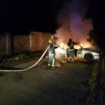 Костопільський район: рятувальники ліквідували пожежу в автомобілі