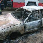На Рівненщині згоріла автівка