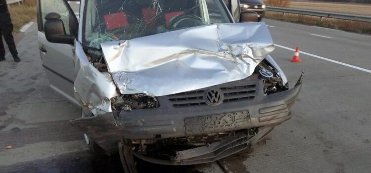 Під час зіткнення автомобілів травми отримали четверо людей