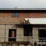 У Рівненському районі поліцейські розслідують підпал новобудови