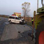 Смертельне зіткнення з комбайном: на Рівненщині загинув водій