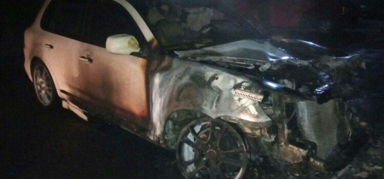 Поліцейські розслідують підпал автомобіля у Дубні